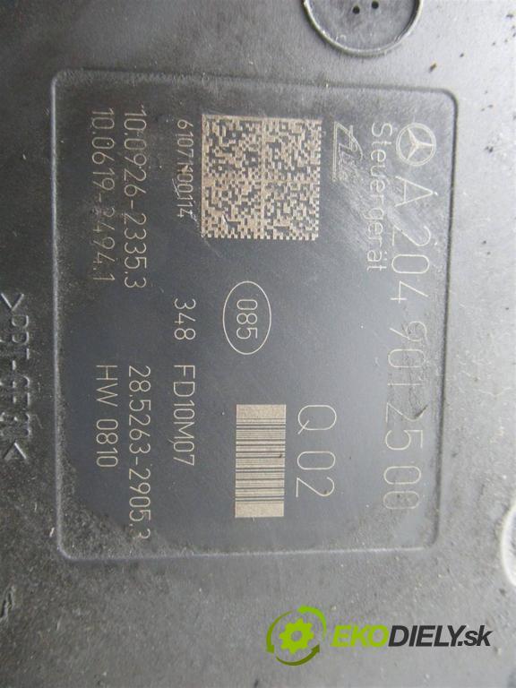 Mercedes-Benz W204  2010 184KM SEDAN 4D 1.8B 184KM 07-14 1800 Pumpa ABS  (Pumpy ABS)
