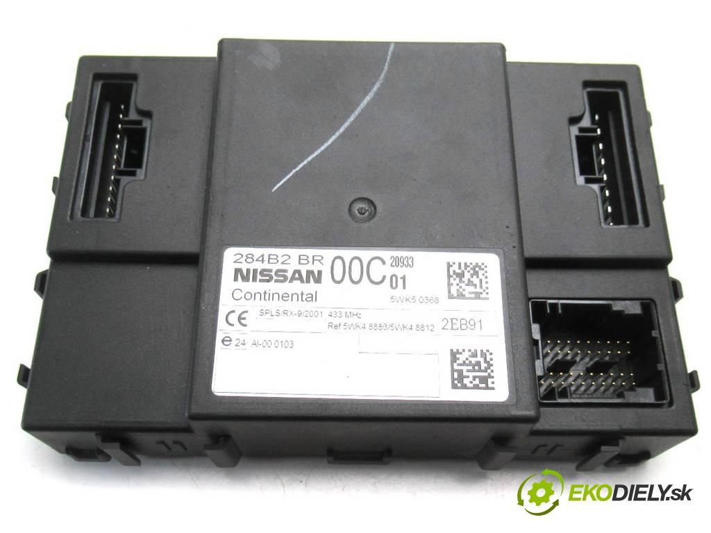 Nissan Qashqai  2012  LIFT 1.6B 117KM 06-13 1600 Modul komfortu 284B2BR00C (Moduly komfortu)