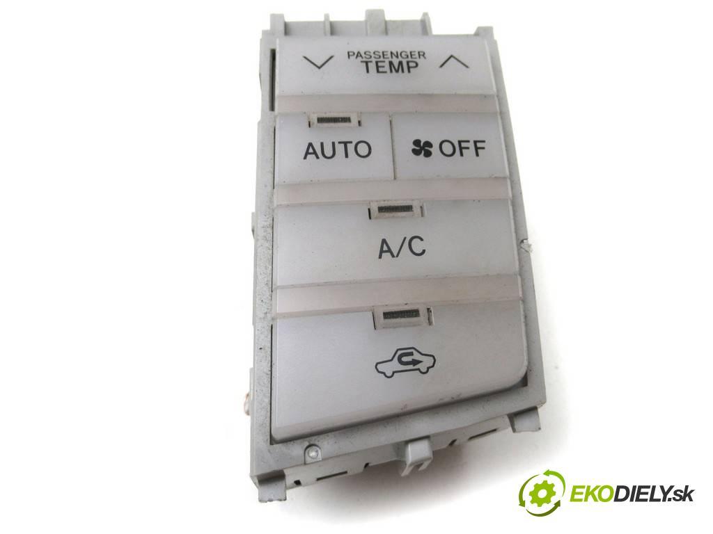 Toyota Avalon    X3 USA SEDAN 4D 3.5B 272KM 05-08  Panel ovládania kúrenia  (Prepínače, spínače, tlačidlá a ovládače kúrenia)