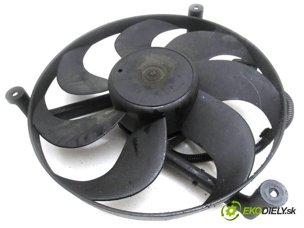Skoda Fabia  2000  HATCHBACK 5D 1.4MPI 60KM 99-04 1400 Ventilátor chladiča 1J0121206C (Ventilátory)