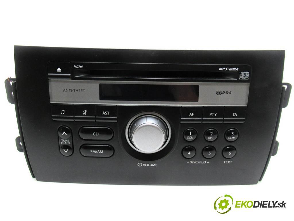 Suzuki SX4  2008 107KM 1.6B 107KM 06-14 1600 RADIO 39101-79JC (Audio zariadenia)