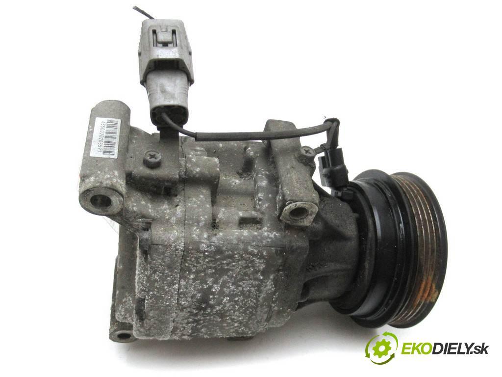 Toyota Corolla Verso  2002  2.0D-4D 116KM 01-04 2000 Kompresor klimatizácie 447220-6350 (Kompresory klimatizácie)