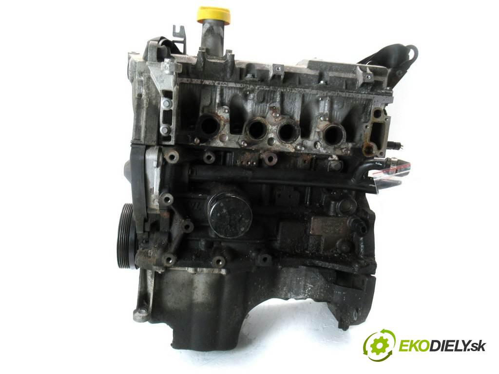 Dacia Sandero  2009 55kW 1.4B 75KM 08-12 1400 Motor KJ7 710 (Motory (kompletné))