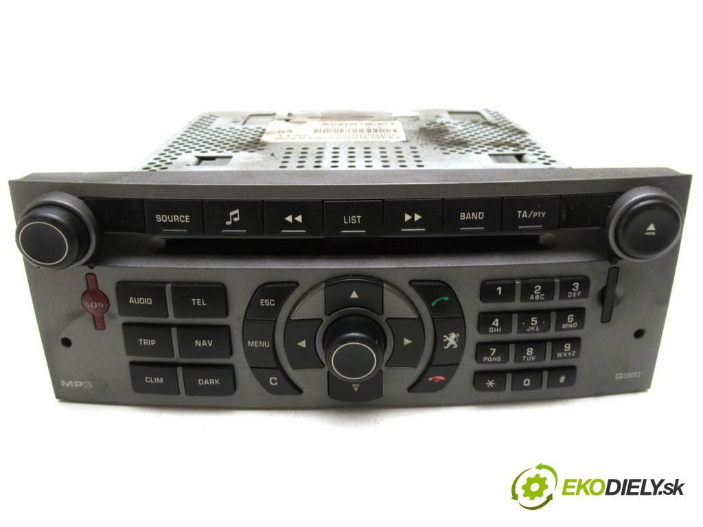 Peugeot 407 SW  2006  KOMBI 5D 1.6HDI 109KM 04-11 1600 RADIO 96632912YW (Audio zariadenia)