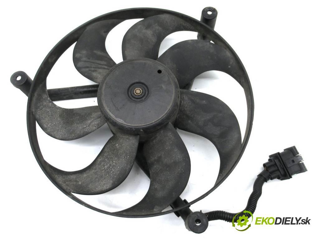 Volkswagen Fox  2010  3D 1.2B 60KM 03-11 1200 Ventilátor chladiča 1J0959455B (Ventilátory)