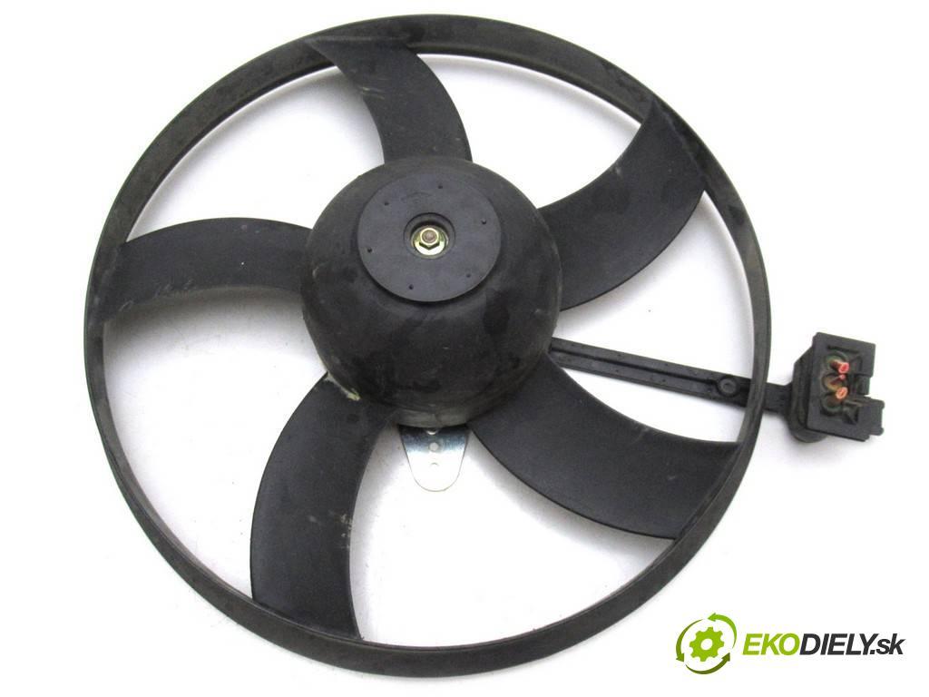 Skoda Fabia  2001  HATCHBACK 5D 1.4MPI 60KM 99-07 1400 Ventilátor chladiča  (Ventilátory)