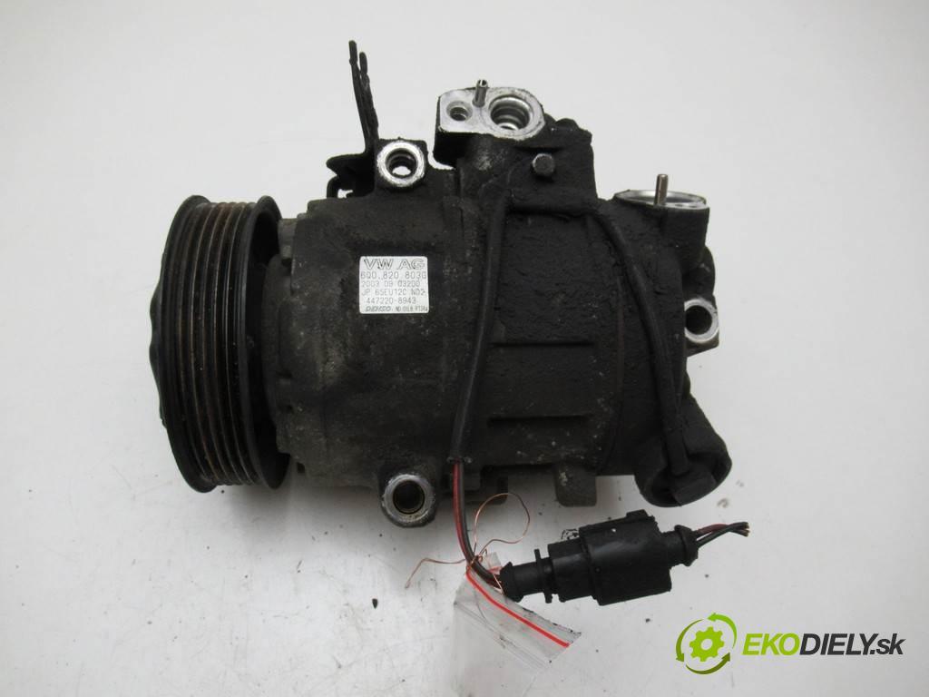 Skoda Fabia  2004  SEDAN 4D 1.2B 64KM 99-07 1200 kompresor klimatizace 6Q0820803G (Kompresory)