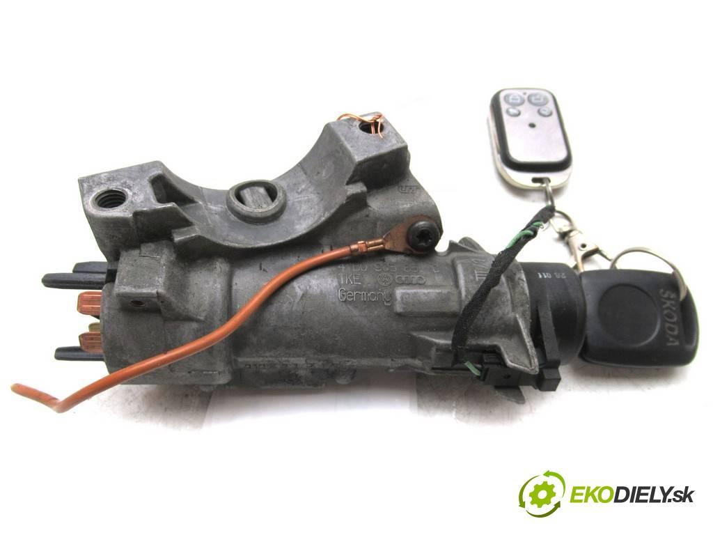 Skoda Fabia  2001  HATCHBACK 5D 1.4B 60KM 99-07 1400 spinačka 4B0905851C (Spínacie skrinky a kľúče)