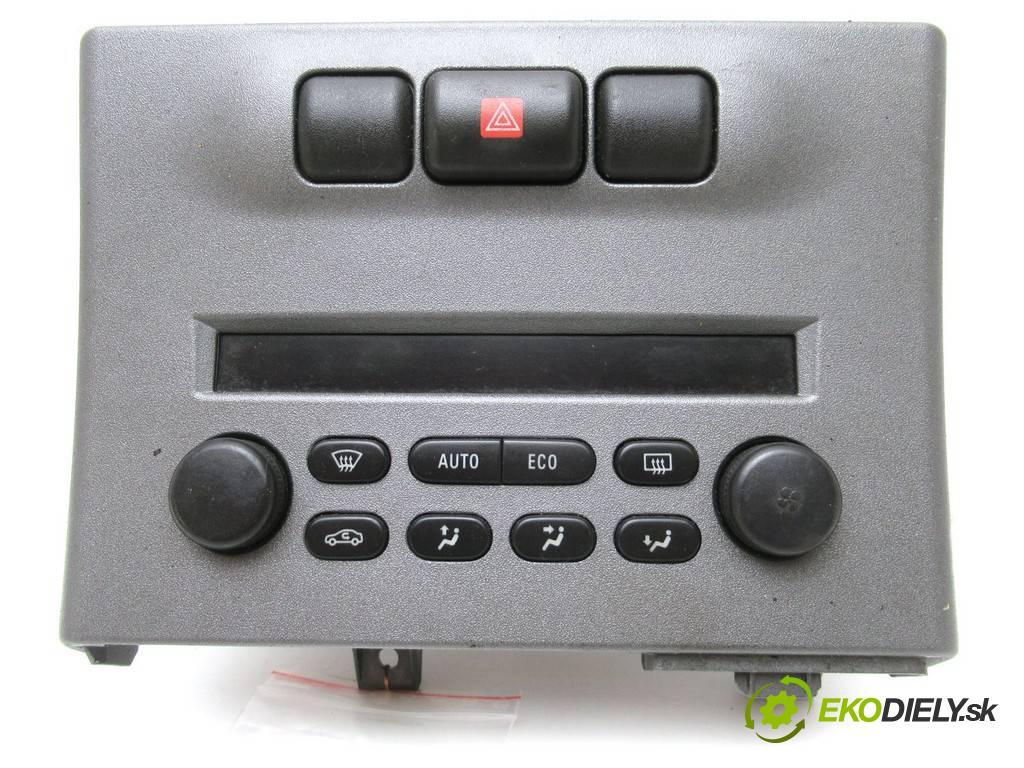 Opel Zafira A  2005  2.2DTI 125KM 99-05 2200 Panel ovládania kúrenia 013140985 (Prepínače, spínače, tlačidlá a ovládače kúrenia)