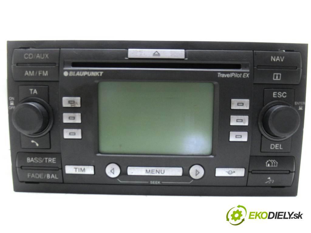 Ford Focus C-Max  2005  1.6TDCI 109KM 03-07 1600 RADIO 4M5T-18K931-BF (Audio zariadenia)