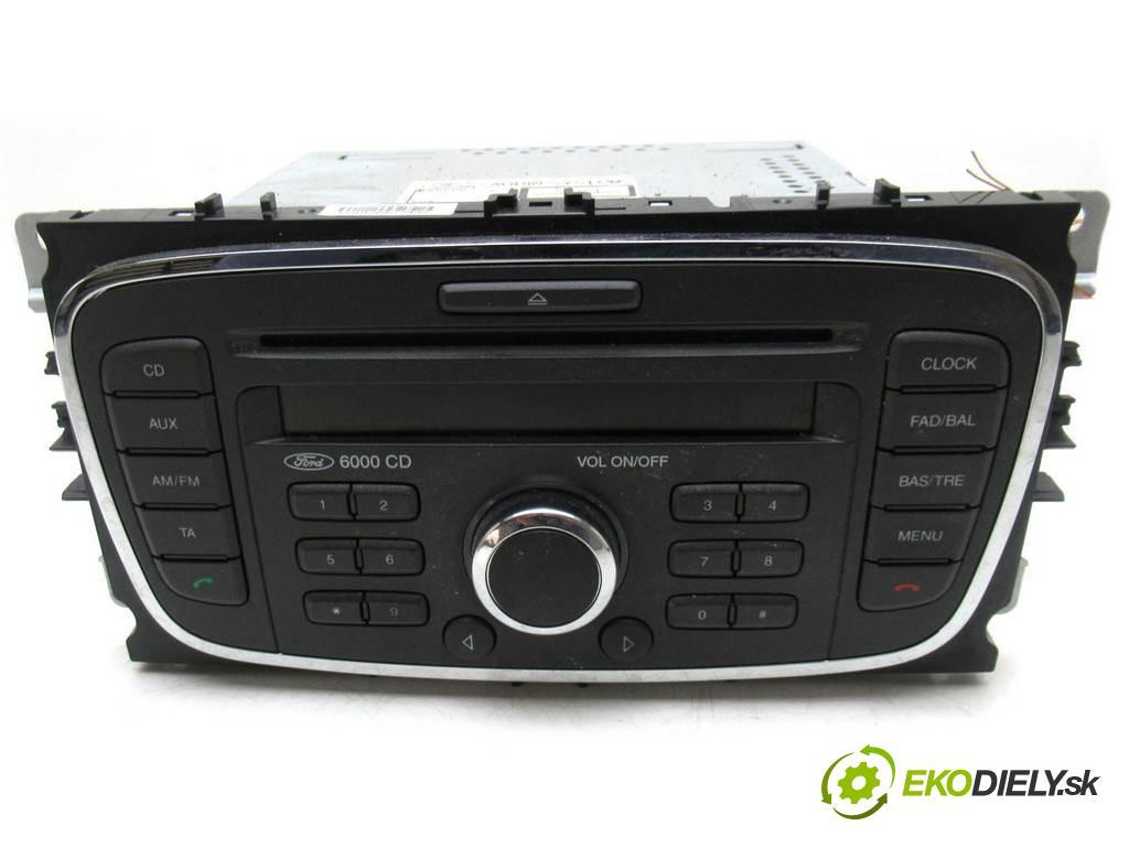 Ford Focus II LIFT  2010  KOMBI 5D 1.6TDCI 90KM 04-11 1600 RADIO 7M5T-18C815-BC (Audio zariadenia)