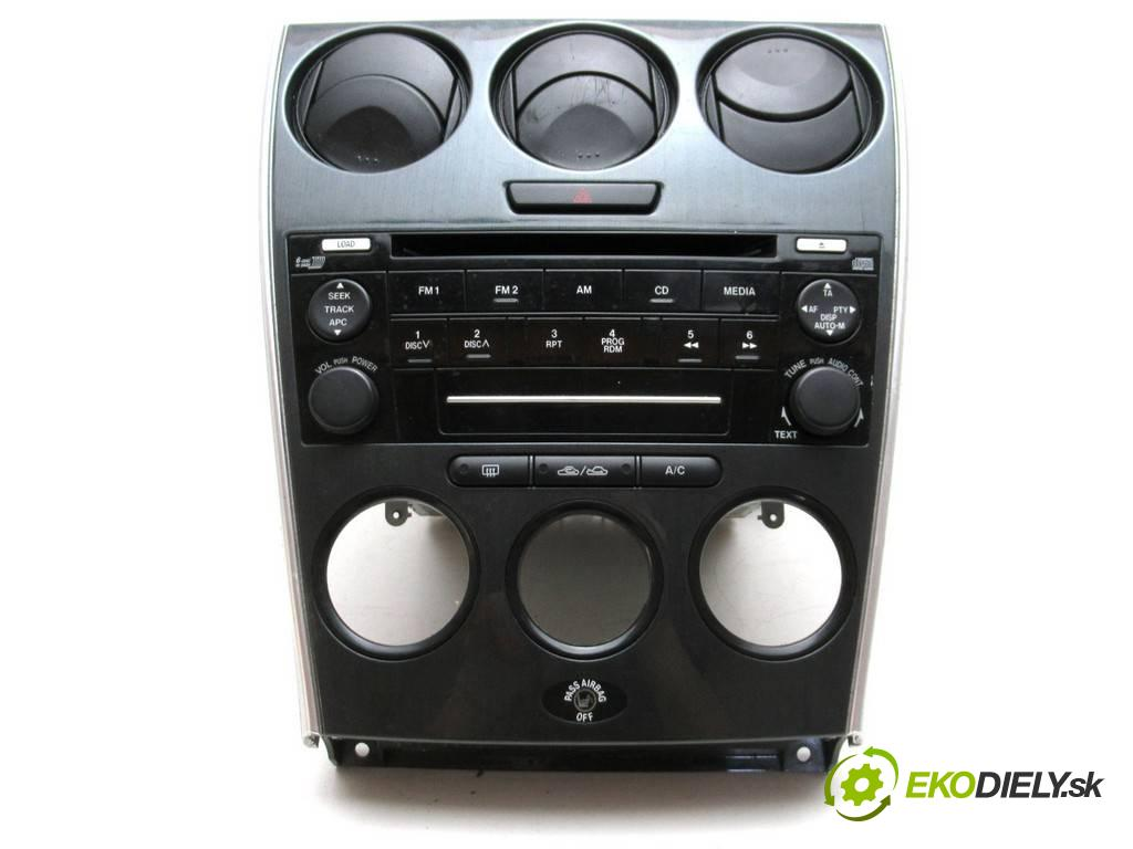 Mazda 6  2007  KOMBI 5D 2.0D 136KM 02-07 2000 RADIO GP9E66DSX (Audio zariadenia)