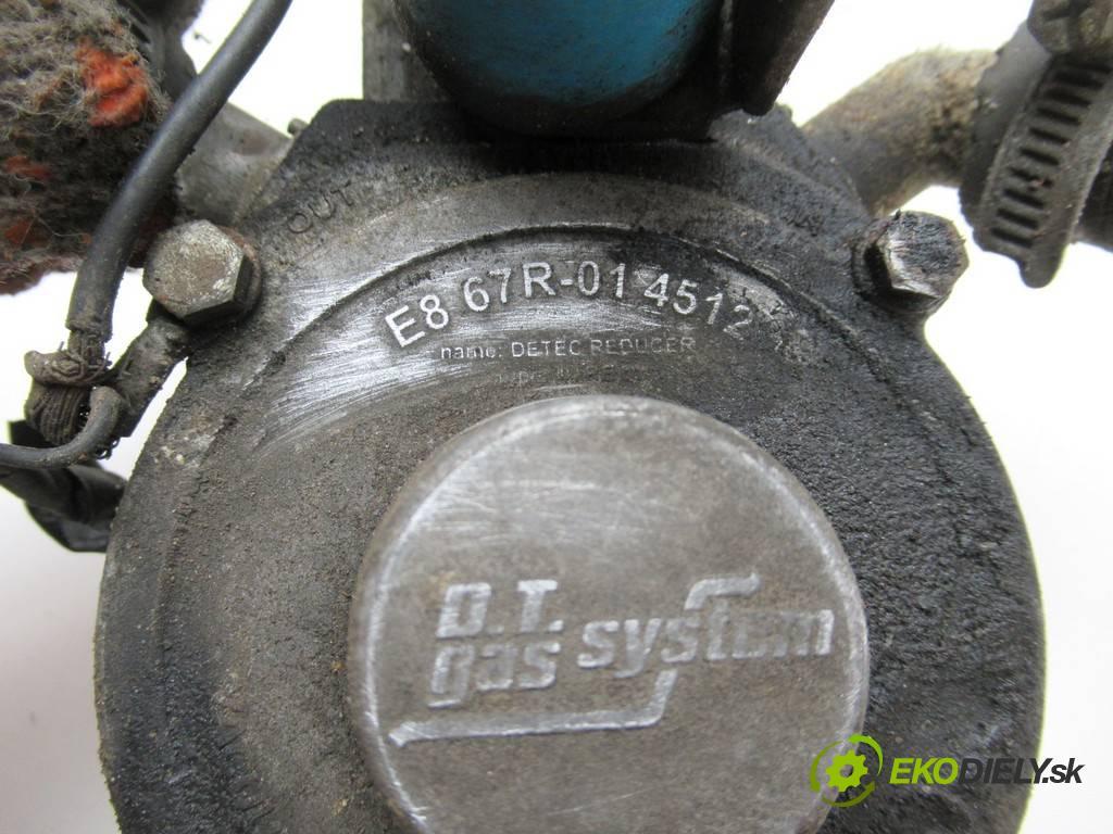 . .    A  Reduktor do plynového pedálu LPG  (LPG)