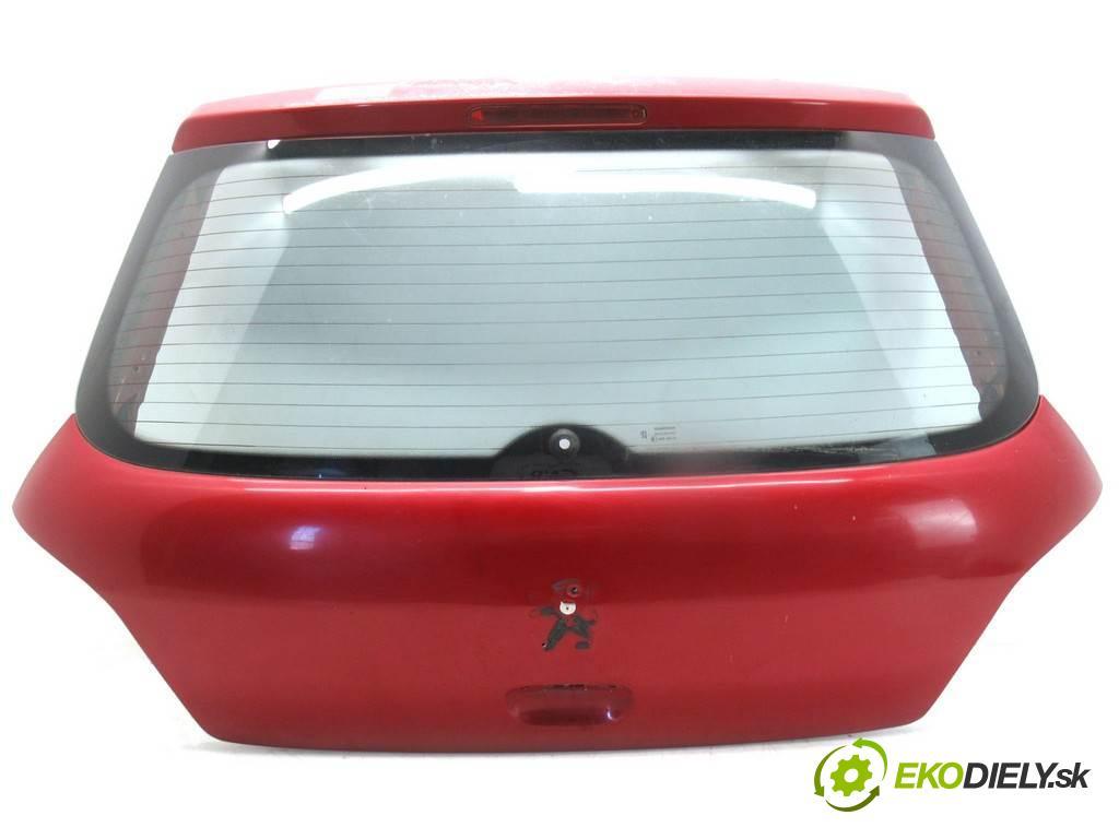 Peugeot 307  2002  HATCHBACK 3D 1.4HDI 68KM 01-05 1400 zadná kapota  (Zadné kapoty)