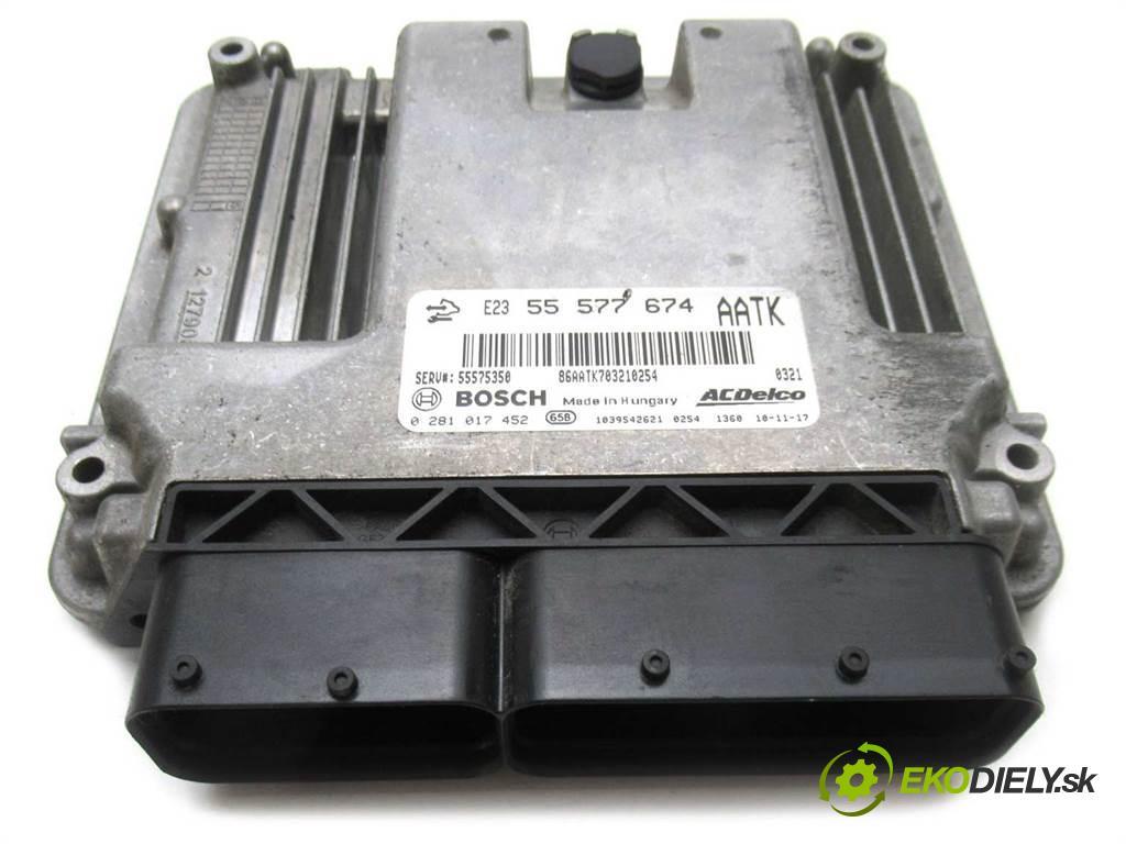 Opel Insignia  2010 131KM HATCHBACK 5D 2.0CDTI 131KM 08-13 2000 riadiaca jednotka Motor 0281017452 (Riadiace jednotky)