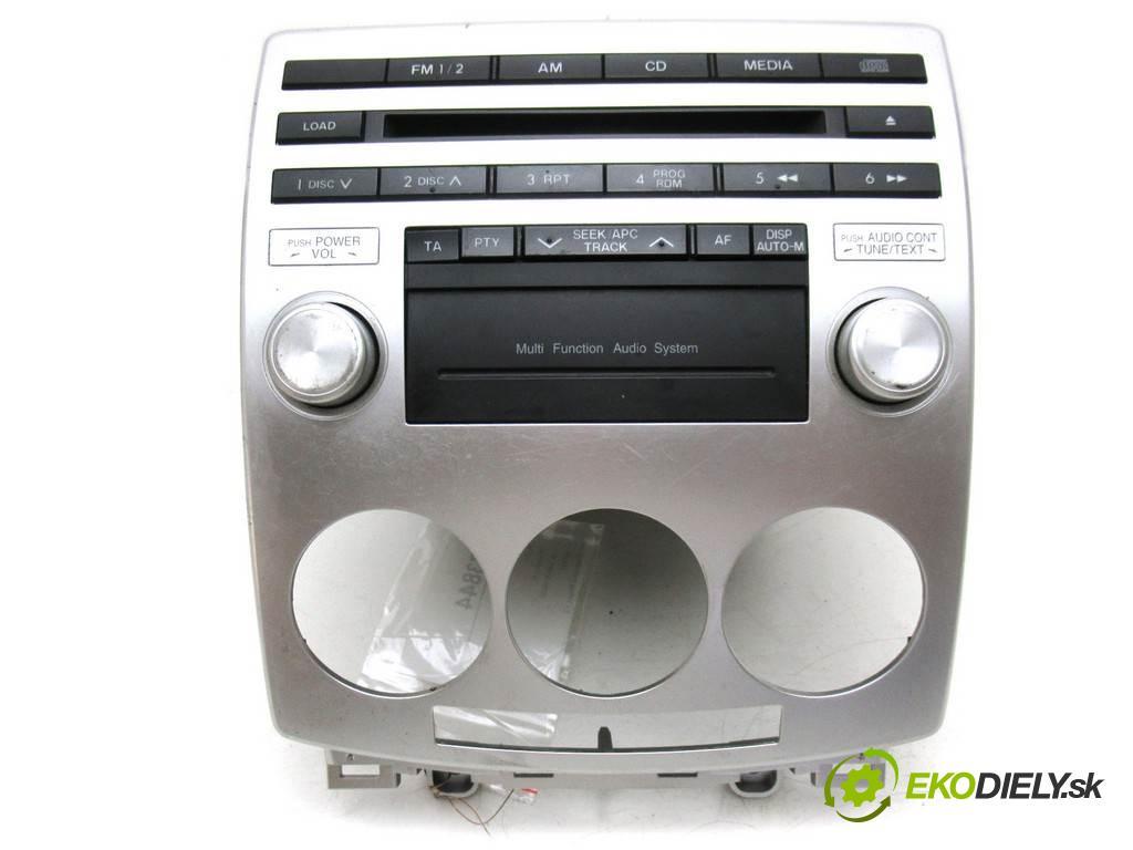 Mazda 5 Premacy II  2006 145KM 2.0B 145KM 05-08 2000 RADIO CC9366AR0  14792026 (Audio zariadenia)