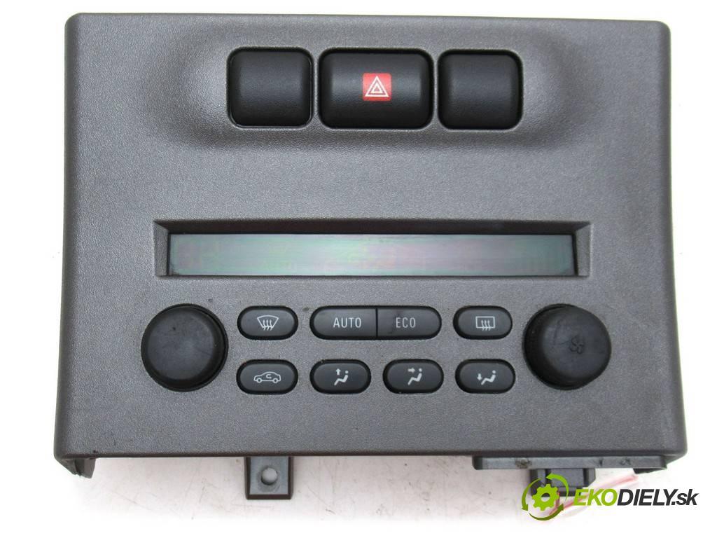 Opel Zafira A  2005  1.8B 125KM 99-05 1800 Panel ovládania kúrenia 013140985 (Prepínače, spínače, tlačidlá a ovládače kúrenia)