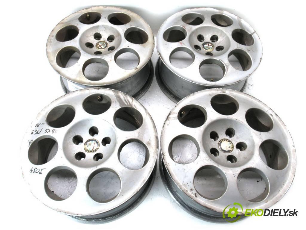 Alfa Romeo     16 6,5J 5X98 ET41,5  disky hliníkové - 16  (Hliníkové)