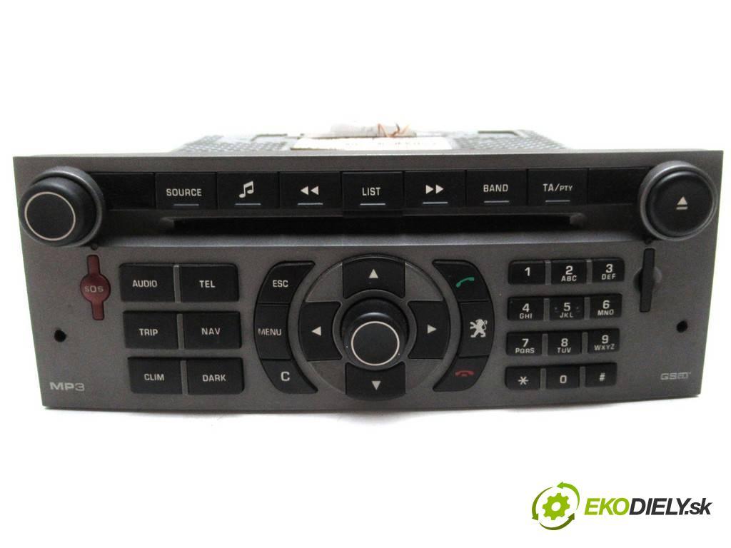 Peugeot 407 SW  2006  KOMBI 5D 1.6HDI 109KM 04-11 1600 RADIO 96601833YW (Audio zariadenia)