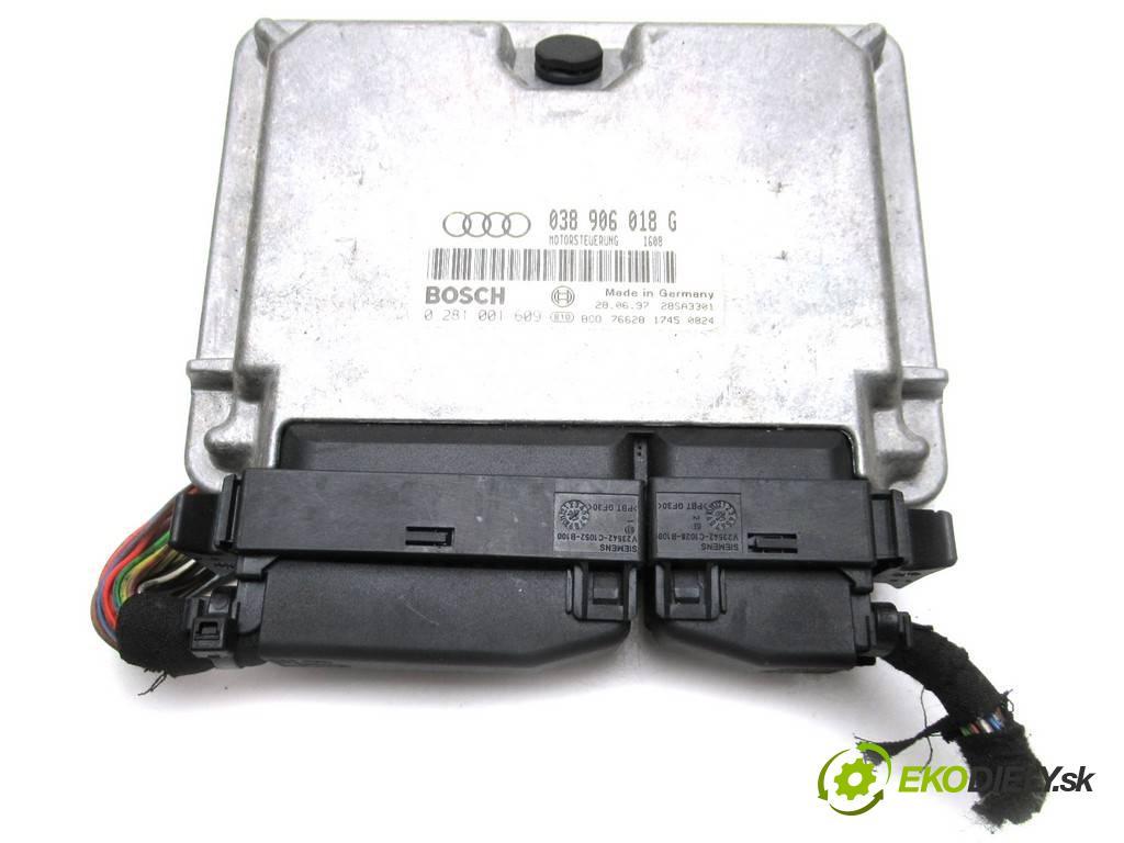 Audi A6 C5  1997  SEDAN 4D 1.9TDI 110KM 97-04 1900 riadiaca jednotka Motor 038906018G (Riadiace jednotky)
