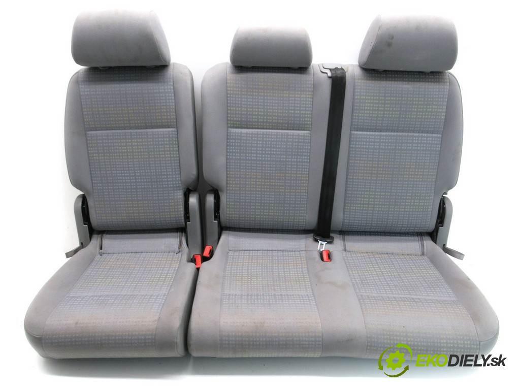 Volkswagen Caddy  2005 69KM 2K 2.0SDI 70KM 03-10 2000 Sedadlo zad  (Sedačky, sedadlá)