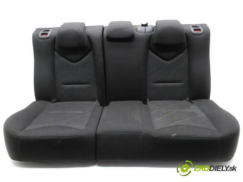 Peugeot 308 LIFT  2013  KOMBI 5D 1.6HDI 92KM 07-13 1600 Sedadlo zad  (Sedačky, sedadlá)