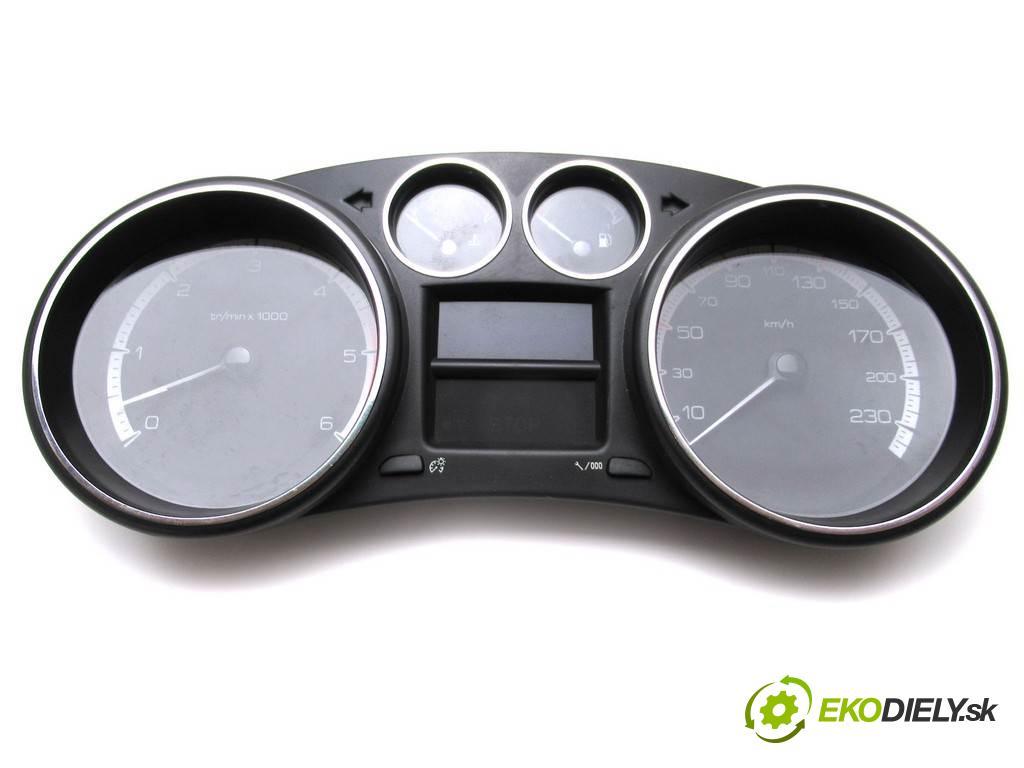 Peugeot 308 LIFT  2013  KOMBI 5D 1.6HDI 92KM 07-13 1600 Prístrojovka 9666649080 (Prístrojové dosky, displeje)
