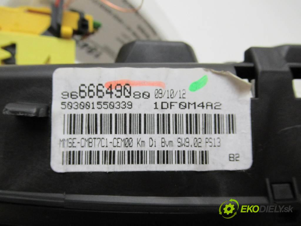 Peugeot 308 LIFT  2013  KOMBI 5D 1.6HDI 92KM 07-13 1600 prístrojovka 9666649080 (Přístrojové desky, displeje)