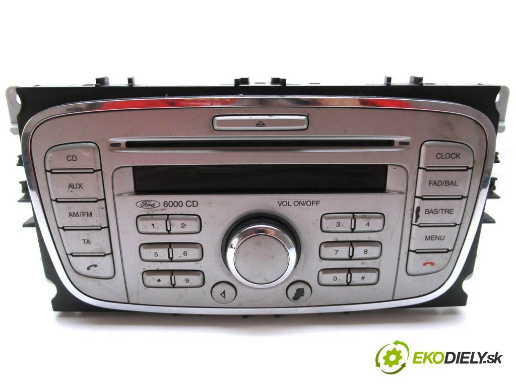 Ford Focus II LIFT  2008  KOMBI 5D 1.6TDCI 90KM 04-11 1600 RADIO 8M5T-18C815-AB (Audio zariadenia)