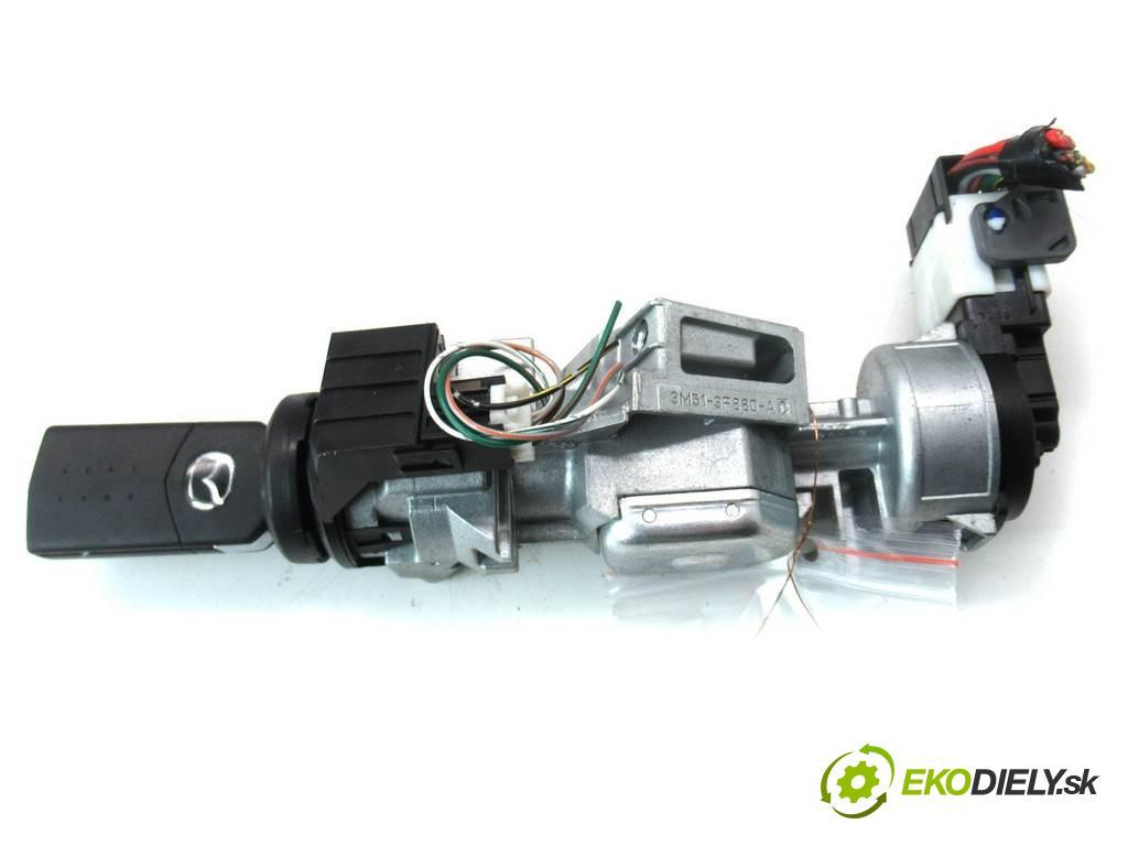 Mazda 3  2007  HATCHBACK 5D 1.6B 105KM 03-09 1600 spinačka 3M51-3F880-AC (Spínacie skrinky a kľúče)