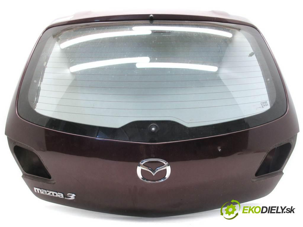 Mazda 3  2007  HATCHBACK 5D 1.6B 105KM 03-09 1600 zadná kapota  (Zadné kapoty)