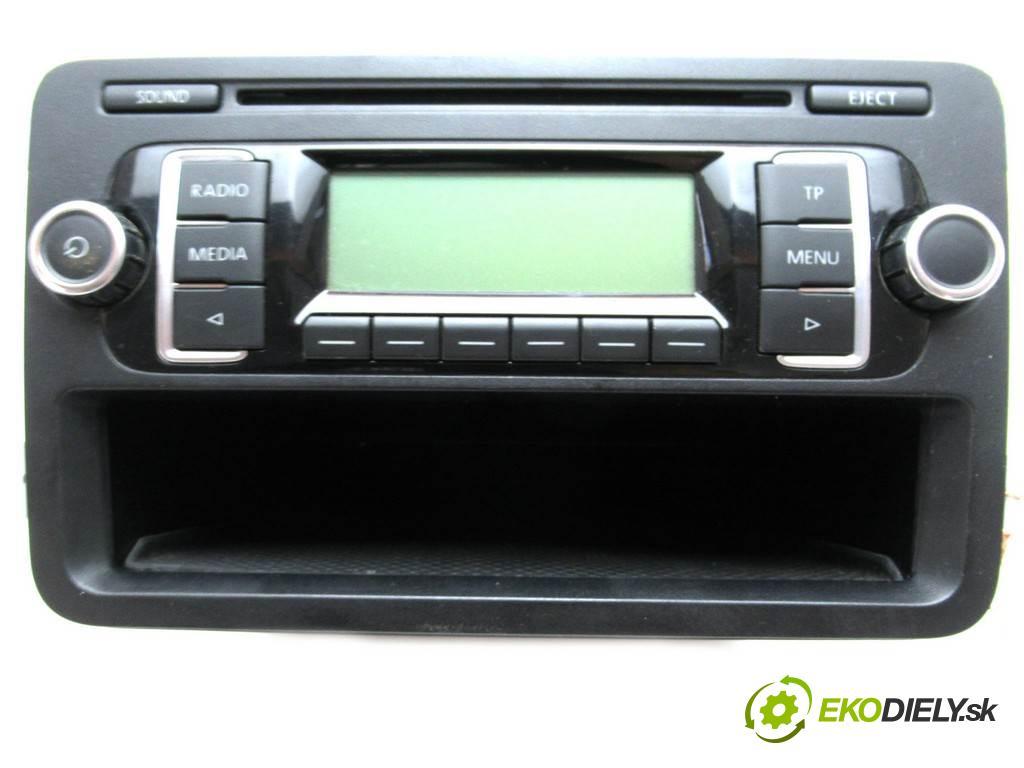 Volkswagen Golf V  2007  HATCHBACK 5D 1.6B 102KM 03-08 1600 RADIO 1K0035156 (Audio zariadenia)