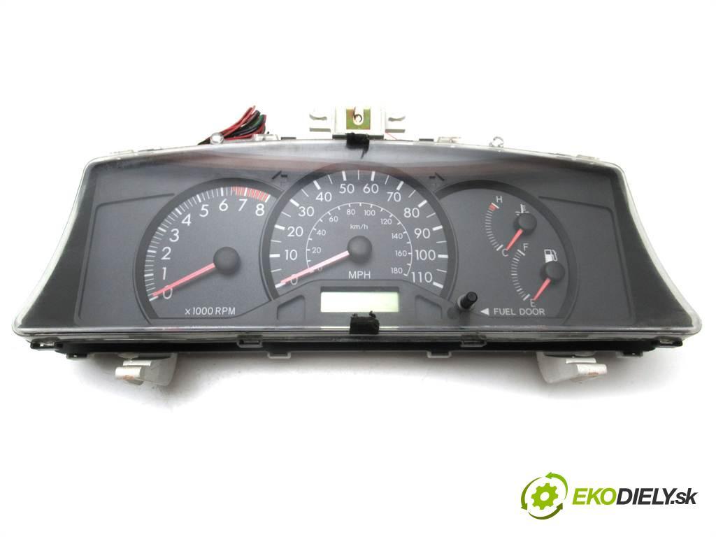 Toyota Corolla E12  2005  SEDAN 4D 1.8B 16V 130KM 01-07 1800 Prístrojovka 83800-02D40 (Prístrojové dosky, displeje)