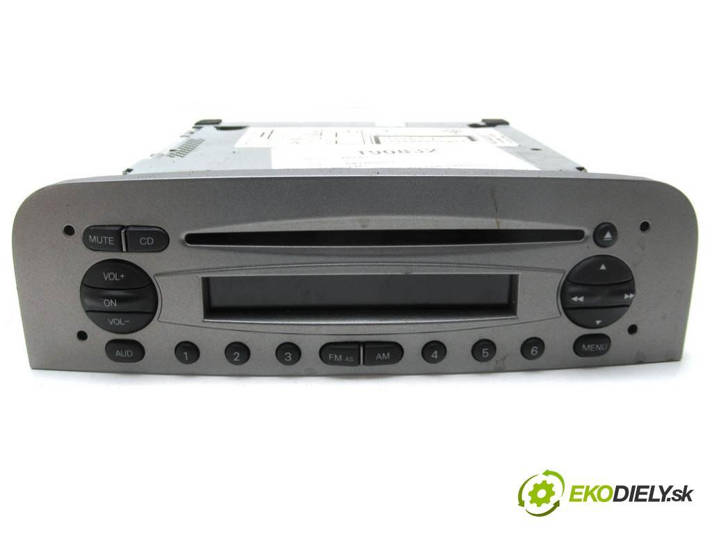 Alfa Romeo 147  2007  HATCHBACK 5D 1.6B 105KM 00-10 1600 RADIO 7646694316 (Audio zariadenia)