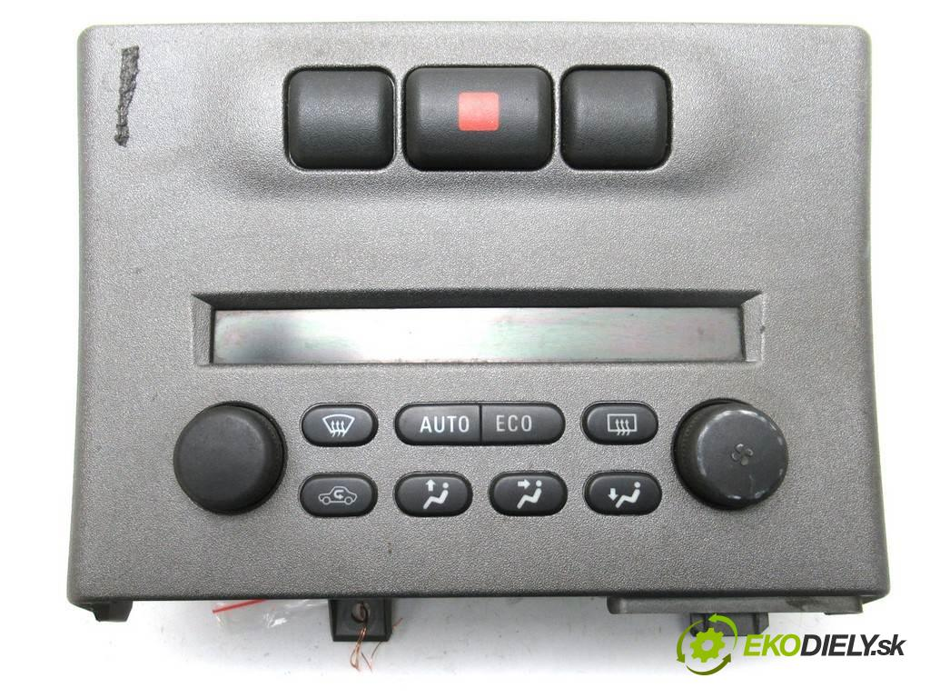 Opel Zafira A  2004  1.6B 101KM 99-05 1600 Panel ovládania kúrenia 013140985 (Prepínače, spínače, tlačidlá a ovládače kúrenia)