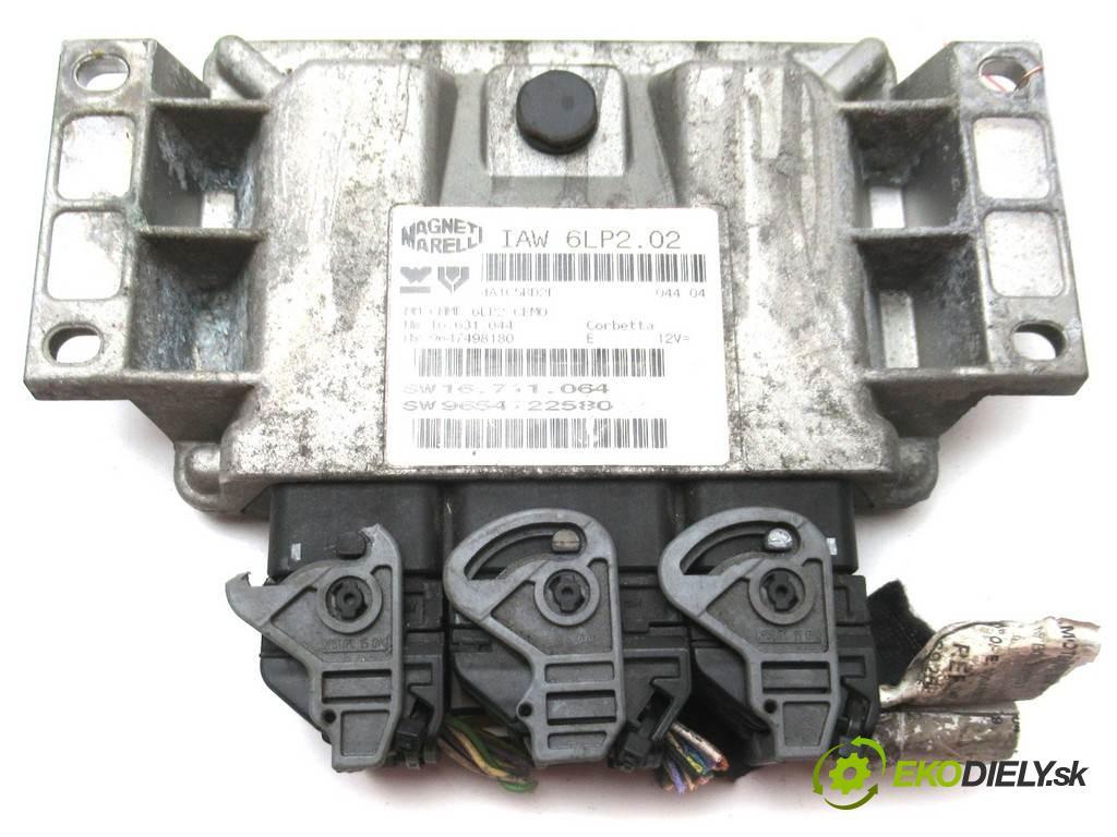 Citroen C3  2005  HATCHBACK 5D 1.4B 88KM 02-09 1400 riadiaca jednotka Motor 9654722580 (Riadiace jednotky)