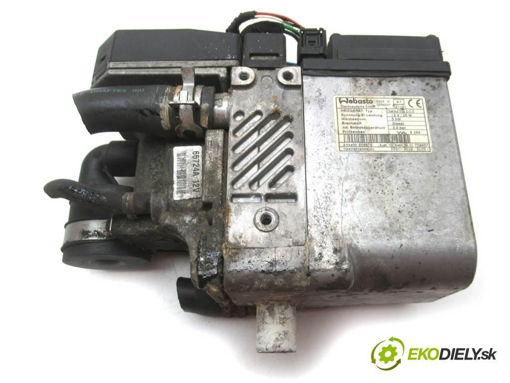 Citroen Evasion  2001  2.0HDI 109KM 94-03 2000 Webasto  (Webasto ohřívače)