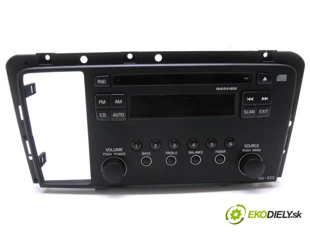 Volvo S60 LIFT  2004  SEDAN 4D 2.4B 140KM 00-07 2400 RADIO 8696126 (Audio zariadenia)