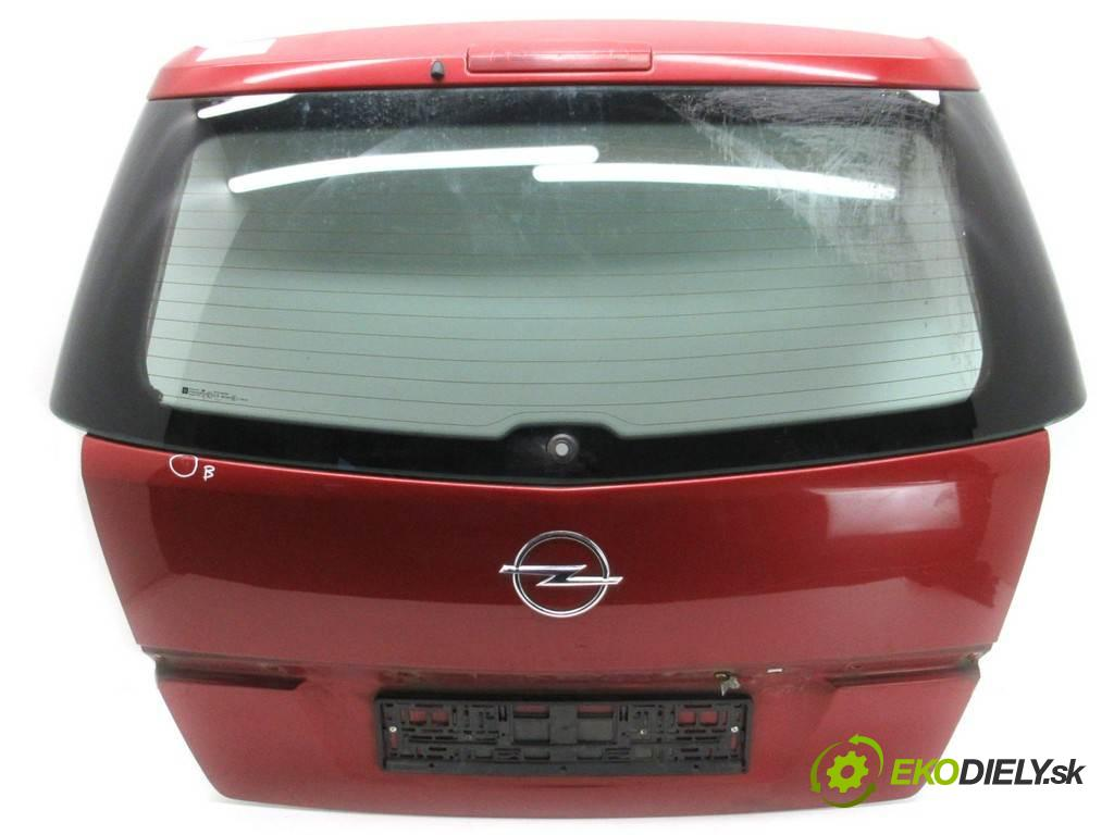 Opel Zafira B  2005  1.8B 140KM 05-14 1800 zadná kapota  (Zadné kapoty)