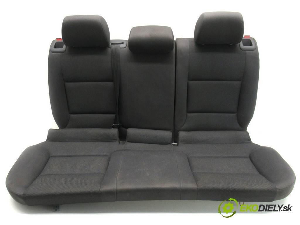 Audi A3 8P  2004 140KM HATCHBACK 3D 2.0TDI 140KM 03-08 2000 Sedadlo zad  (Sedačky, sedadlá)