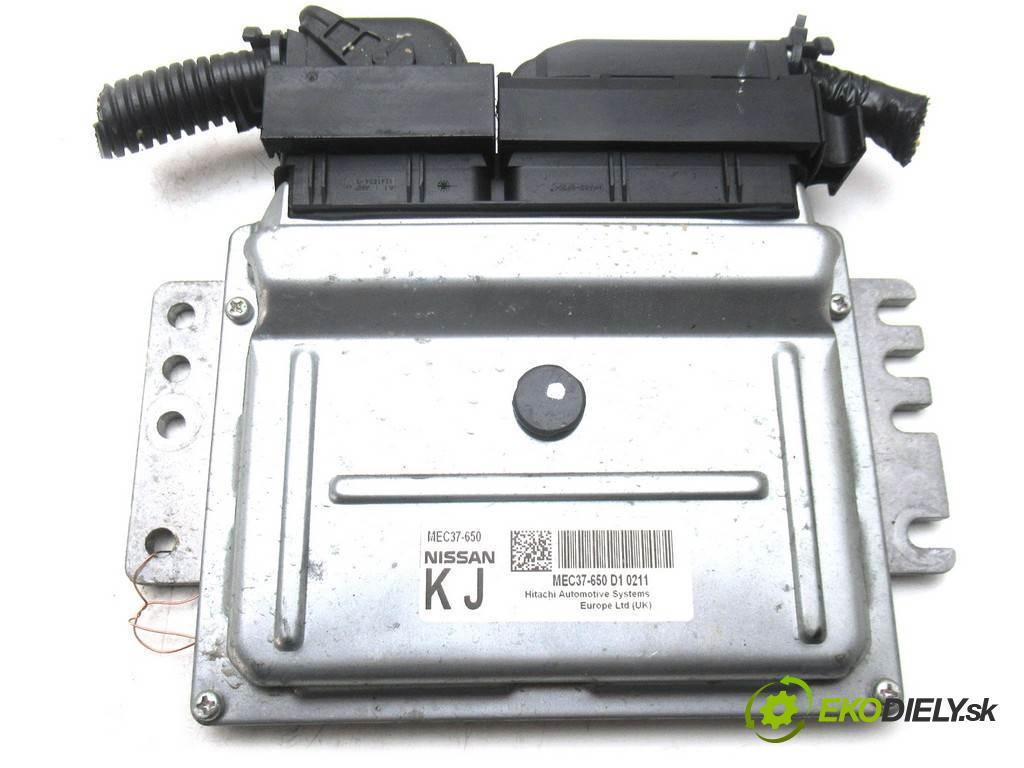 Nissan Note  2010 88KM LIFT 1.4B 88KM 06-12 1400 riadiaca jednotka Motor MEC37-650 (Riadiace jednotky)