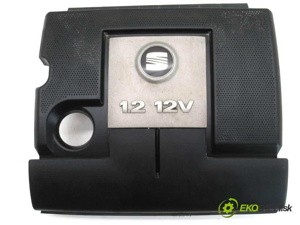 Seat Ibiza III 6L  2006  HATCHBACK 3D 1.2B 64KM 02-08 1200 Kryt Motor 03E129607R (Kryty motora)