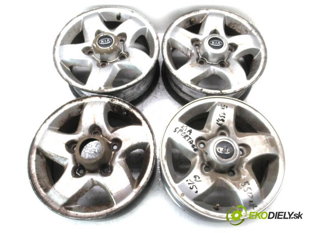 Kia Sportage    15 6J 5X139,7 ET45  disky hliníkové - 15  (Hliníkové)