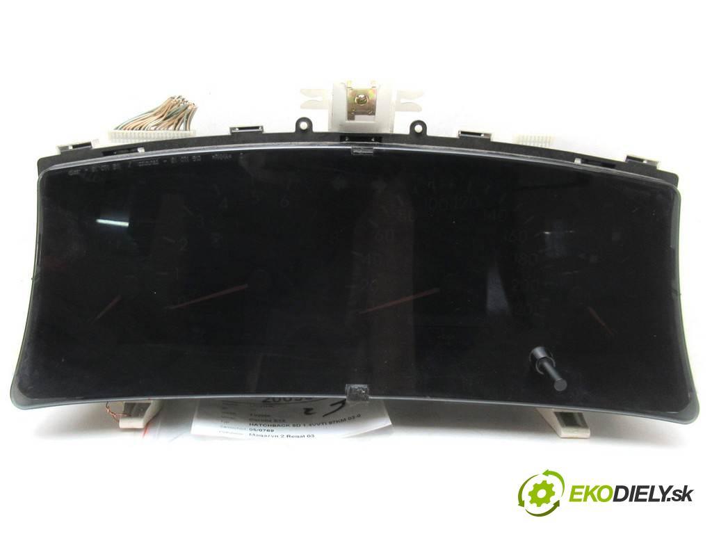 Toyota Corolla E12  2003 97KM HATCHBACK 5D 1.4VVTI 97KM 02-07 1400 Prístrojovka 83800-02750 (Prístrojové dosky, displeje)