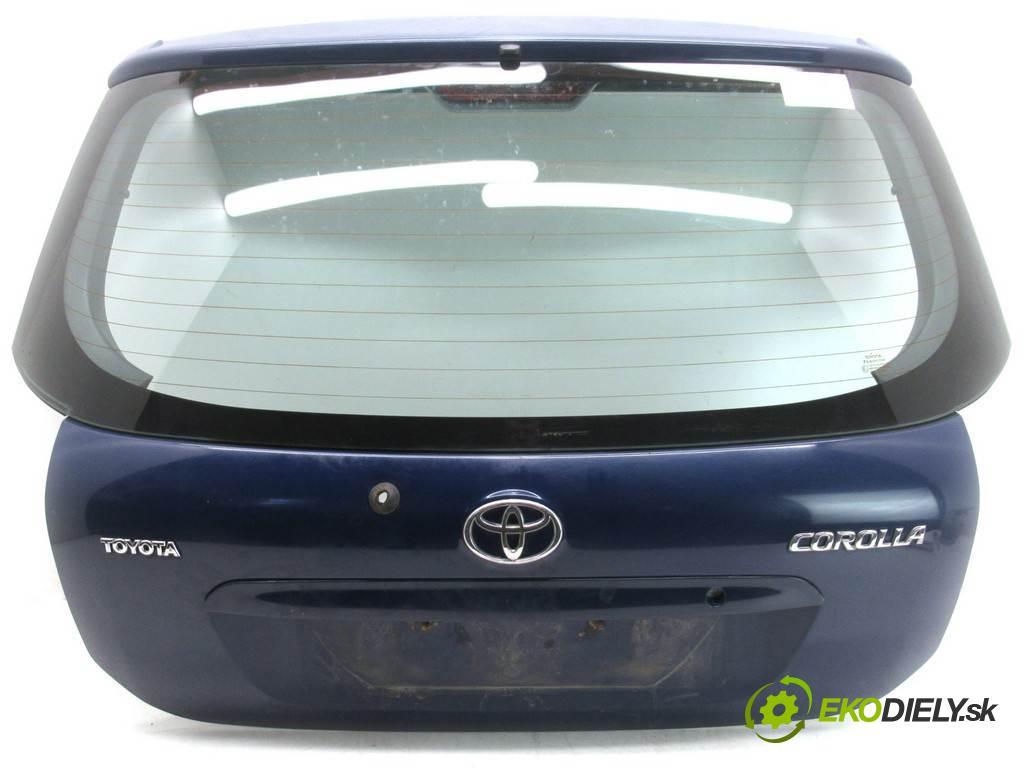 Toyota Corolla E12  2003 97KM HATCHBACK 5D 1.4VVTI 97KM 02-07 1400 zadná kapota  (Zadné kapoty)