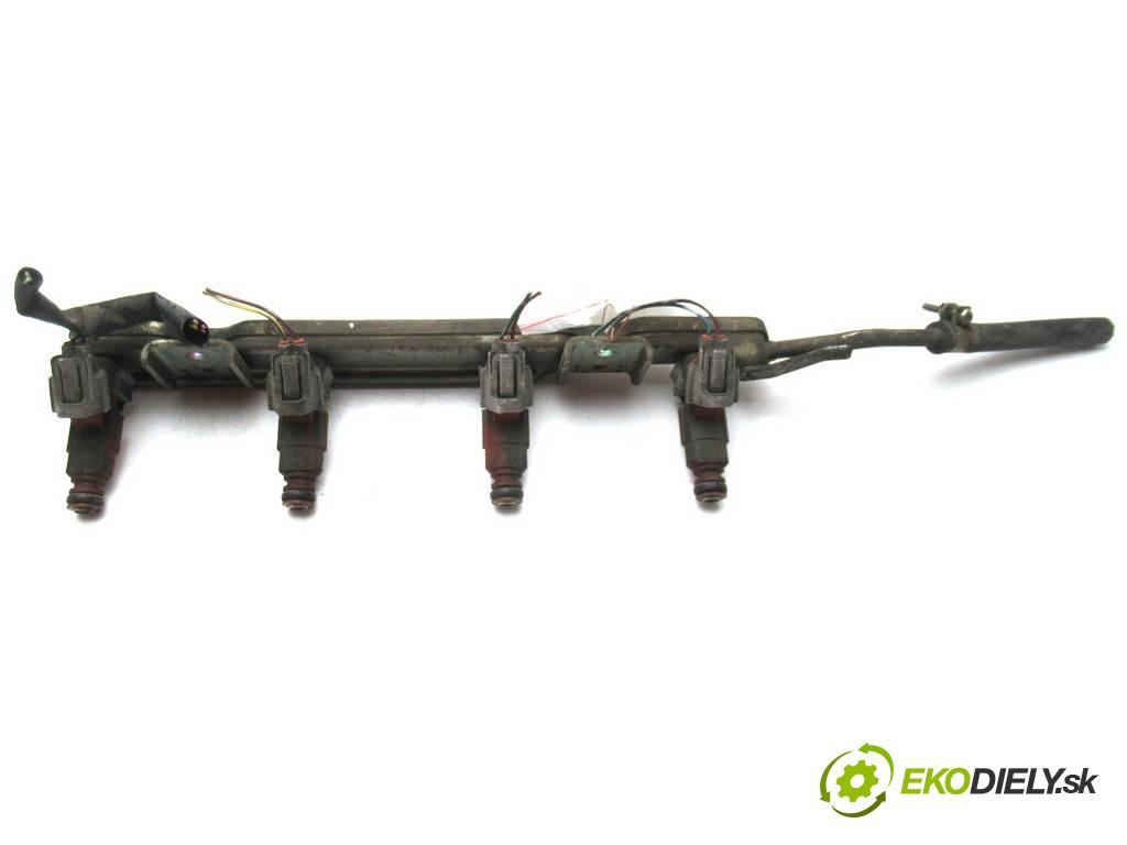Nissan Almera N16 FL  2003  HATCHBACK 5D 1.5B 90KM 03-06 1500 Lišta vstrekovacia Vstrekovacie ventily 0280155940 (Vstrekovacie lišty)