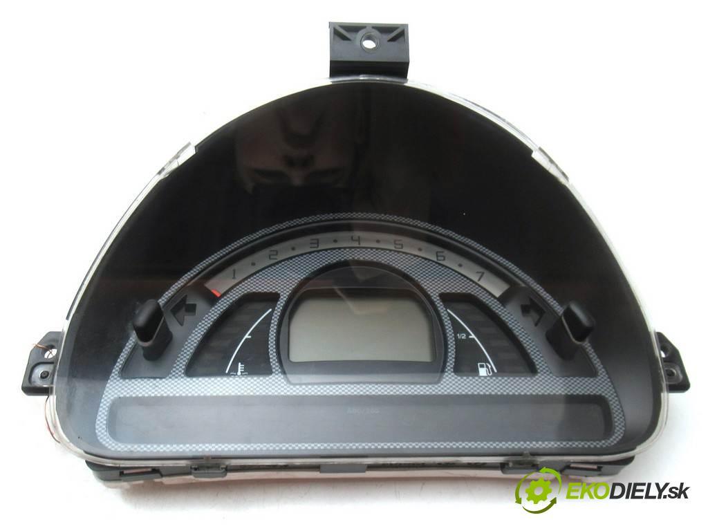 Citroen C2  2005  VTS HATCHBACK 3D 1.6B 122KM 03-09 1600 Prístrojovka P9652008080H01 (Prístrojové dosky, displeje)
