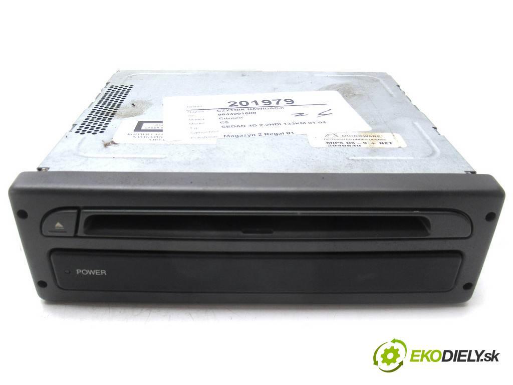 Citroen C5    HATCHBACK 5D 2.2HDI 133KM 01-04  CZYTNIK navigácie 9644201680 (Ostatné)