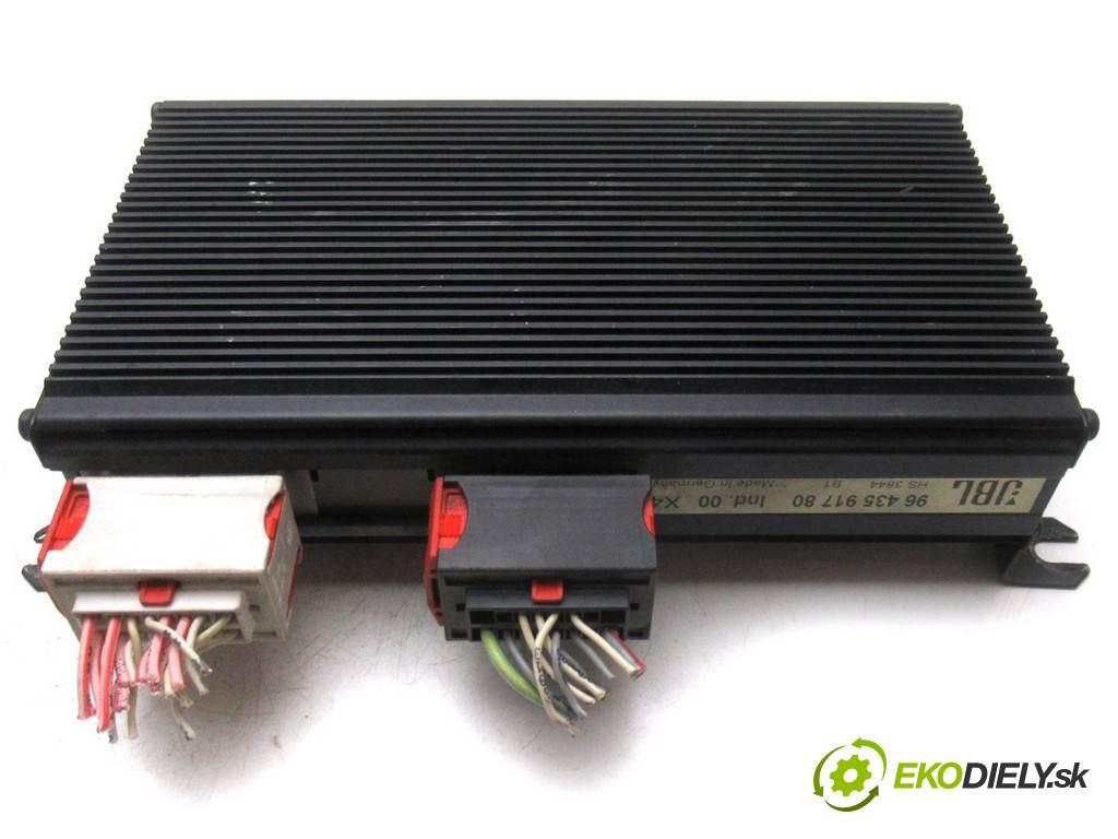 Citroen C5    HATCHBACK 5D 2.2HDI 133KM 01-04  Zosilňovač 9643591780 (Zosilňovače)