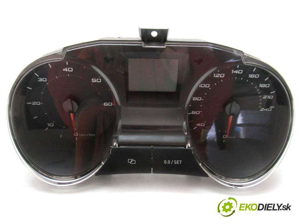 Seat Ibiza IV  2010  HATCHBACK 3D 1.4TDI 80KM 08-12 1400 Prístrojovka 6J0920801A (Prístrojové dosky, displeje)